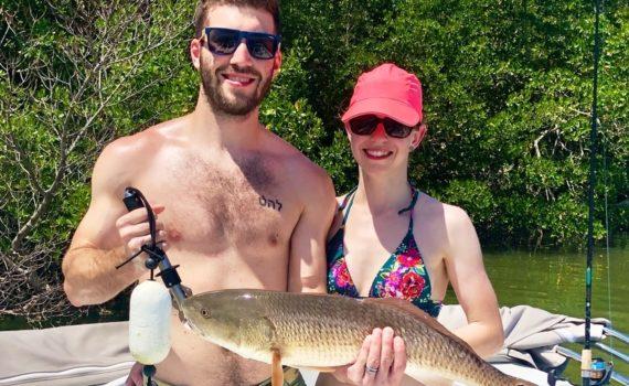 Cape Coral Fishing June 2020 - Redfish