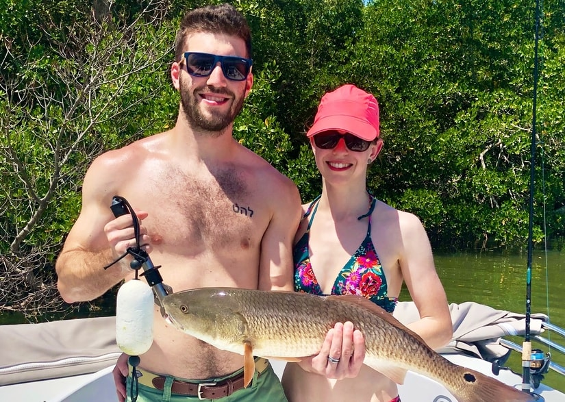 Cape Coral Fishing June 2020 - Redfish