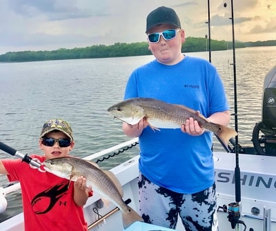 Cape Coral fishing charters lead to inshore slams
