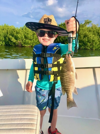 August 2020 Cape Coral Fishing - Mangrove Snapper