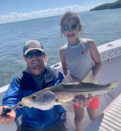 The trout fishing has been fantastic in Southwest Florida, frequently catching two and three at a time.